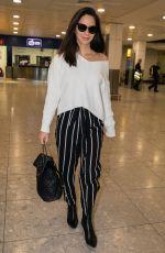OLIVIA MUNN at Heathrow Airport in London 05/09/2018