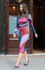 OLIVIA MUNN Leaves Her Hotel in New York 05/21/2018