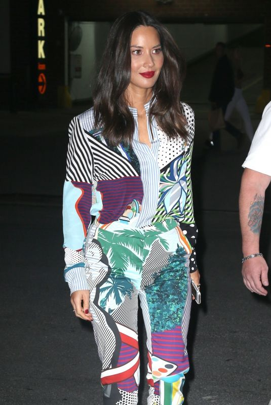 OLIVIA MUNN Night Out in New York 05/21/2018