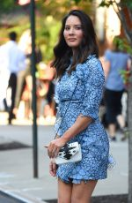OLIVIA MUNN Out in New York 05/23/2018