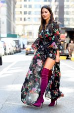 OLIVIA MUNN Promotes Her New Show in New York 05/24/2018