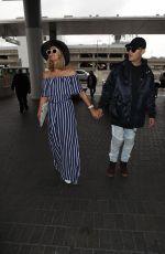 PARIS HILTON at Los Angeles International Airport 05/12/2018