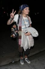 PARIS JACKSON Arrives at On the Rox in West Hollywood 05/19/2018