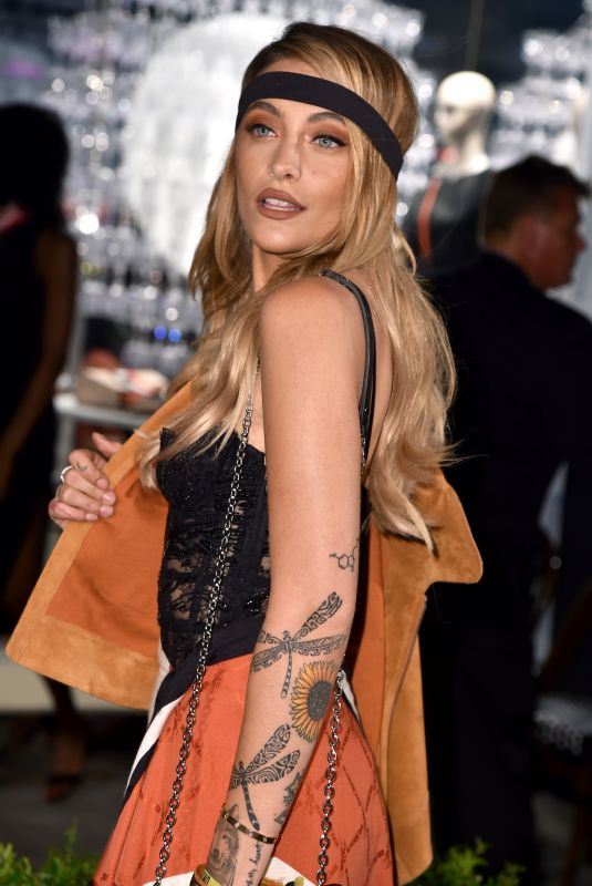 PARIS JACKSON at Longchamp Fifth Avenue Store Opening in New York 05/03/2018