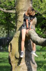 PARIS JACKSON Out at Central Park in New York 05/04/2018