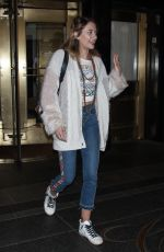 PARIS JACKSON Out in New York 05/08/2018