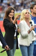 PENELOPE CRUZ at Game of the Heart Charity Match in Genoa 05/30/2018