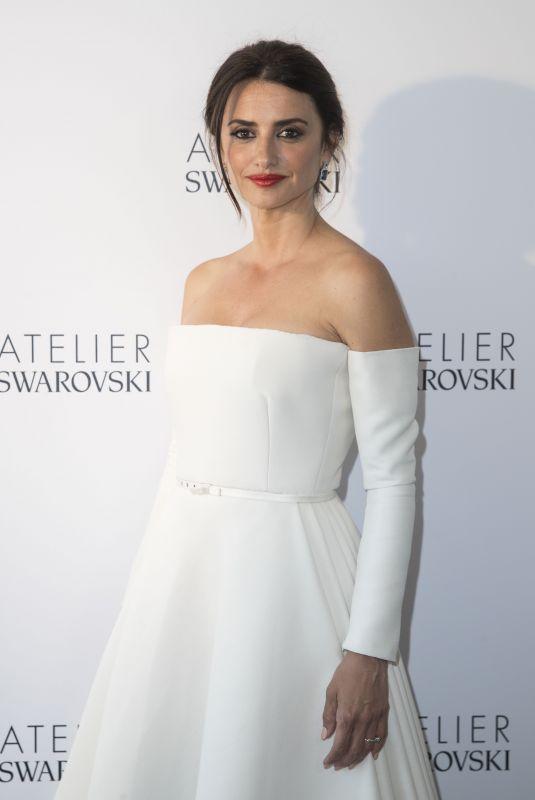 PENELOPE CRUZ at Swarovski Studio Photcall at Cannes Film Festival 05/10/2018