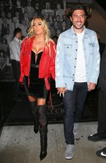 PETRA ECCLESTONE and Sam Palmer at Catch LA in West Hollywood 05/25/2018