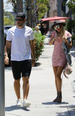 PETRA ECCLESTONE and Sam Palmer Out for Lunch in Beverly Hills 05/17/2018
