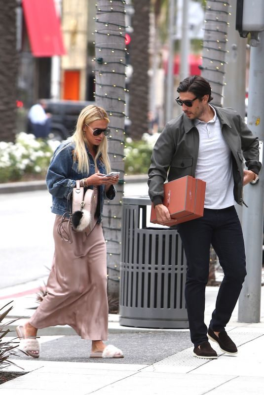 PETRA ECCLESTONE Out in Beverly Hills 05/02/2018