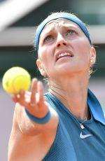 PETRA KVITOVA at French Open Tennis Tournament in Paris 05/28/2018