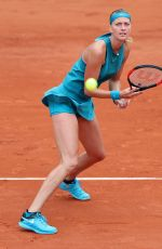 PETRA KVITOVA at French Open Tennis Tournament in Paris 05/28/2018