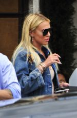 PETRA STUNT Out for Lunch at Il Pastaio in Beverly Hills 05/03/2018