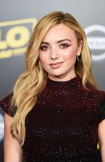 PEYTON LIST at Solo: A Star Wars Story Premiere in Los Angeles 05/10/2018