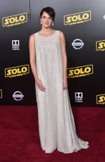 PHOEBE WALLER-BRIDGE at Solo: A Star Wars Story Premiere in Los Angeles 05/10/2018