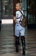 PIA MIA PEREZ Out and About in Beverly Hills 05/15/2018