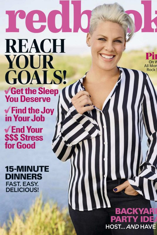 PINK in Redbook Magazine, June 2018