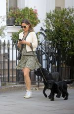 PIPPA MIDDLETON Out with Her Dog in London 05/12/2018