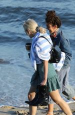 PIXIE LOTT Out on the Beach in Malibu 05/05/2018