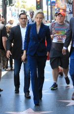POM KLEMENTIEFF at Zoe Saldana Star on the Hollywood Walk of Fame Ceremnoy in Los Angeles 05/03/2018