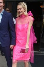 POPPY DELEVINGNE Leaves Her Hotel in New York 05/04/2018