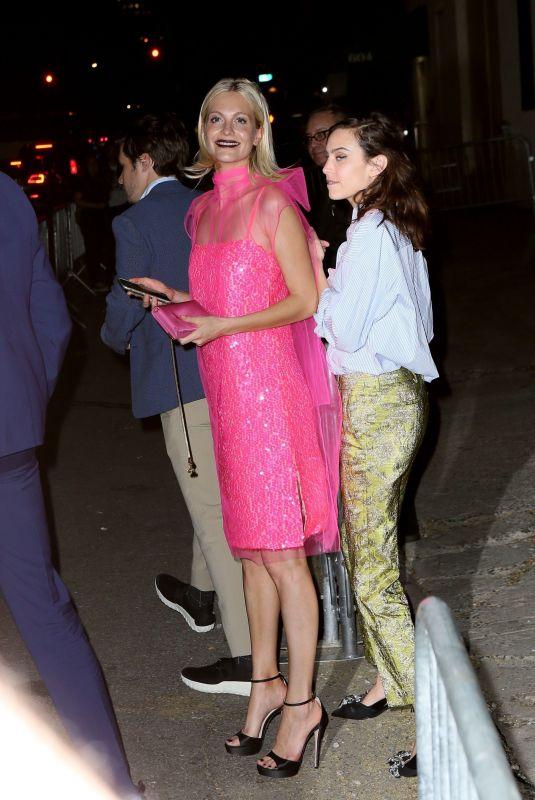 POPPY DELEVINGNE Leaves Prada Event in New York 05/04/2018