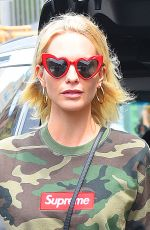 POPPY DELEVINGNE Out on Madison Avenue in New York 05/05/2018