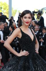 PRAYA LUNDBERG at Ash is Purest White Premiere at Cannes Film Festival 05/11/2018