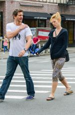Pregnant CLAIRE DANES and Hugh Dancy Out in New York 05/29/2018