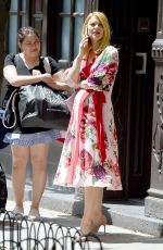 Pregnant CLAIRE DANES Out in New York 05/20/2018
