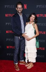 Pregnant INDIA DE BEAUFORT at Netflix FYSee Kick-off Event in Los Angeles 05/06/2018