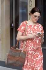 Pregnant RACHEL WEISZ Out in New York 05/15/2018