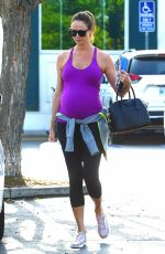 Pregnant STACY KEIBLER at Bristol Farms in Beverly Hills 05/23/2018