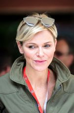 PRINCESS CHARLENE at 2nd F1 Practice Session at Monaco Gran Prix 05/26/2018