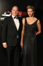 PRINCESS CHARLENE at ACM Dinner Gala at Formula 1 Grand Prix of Monaco 05/27/2018