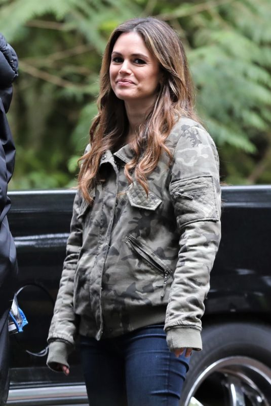 RACHEL BILSON on the Set of Take Two in Vancouver 04/30/2018