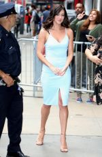 REBECCA KUFRIN Arrives at Good Morning America in New York 05/29/2018