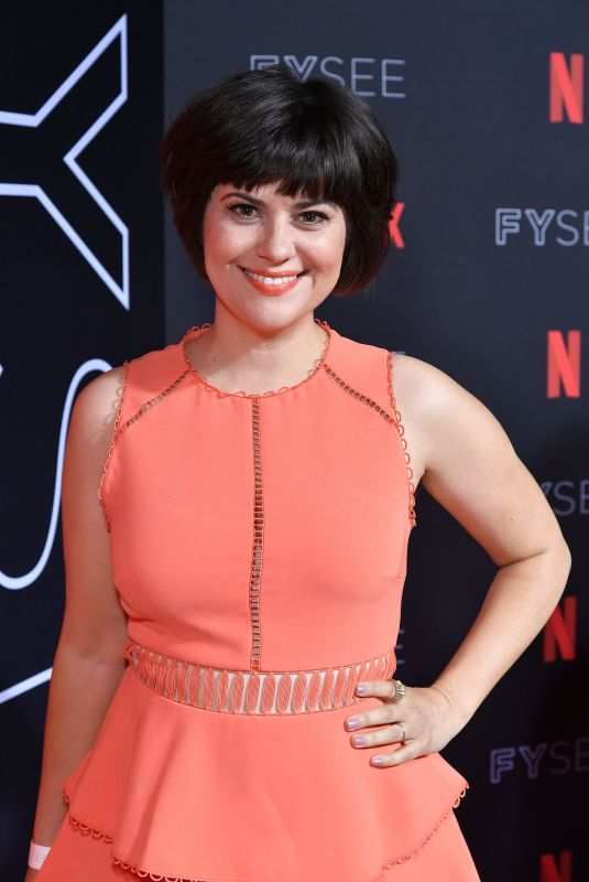 REBEKKA JOHNSON at Netflix FYSee Kick-off Event in Los Angeles 05/06/2018
