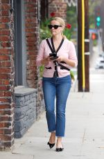 REESE WITHERSPOON Heading to a Spa in Los Angeles 05/19/201