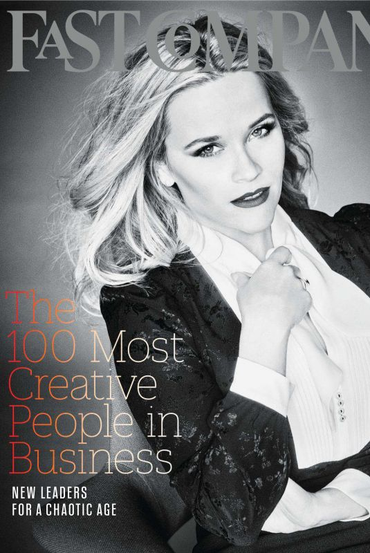 REESE WITHERSPOON in Fast Company, June 2018