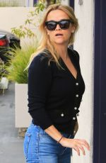 REESE WITHERSPOON in Jeans Out in Los Angeles 05/24/2018
