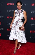 REGINA KING at Netflix FYSee Kick-off Event in Los Angeles 05/06/2018
