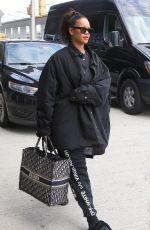 RIHANNA at JFK Airport in New York 05/04/2018