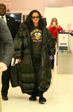 RIHANNA at JFK Airport in New York 05/11/2018