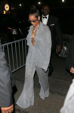 RIHANNA at MET Gala After-party in New York 05/07/2018