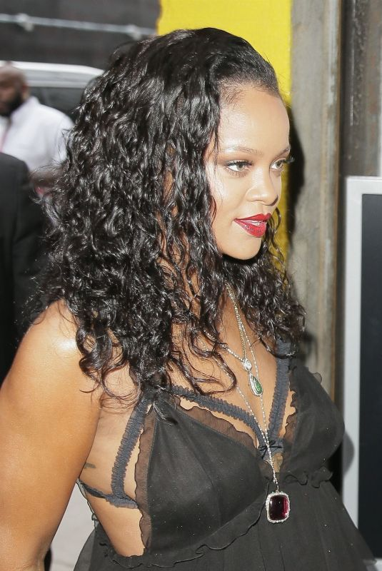 RIHANNA at Savage x Fenty Lingerie Launch Party 05/10/2018