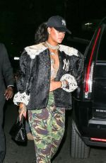 RIHANNA Night Out in New York 05/05/2018