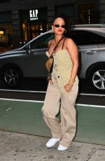 RIHANNA Out and About in New York 05/04/2018