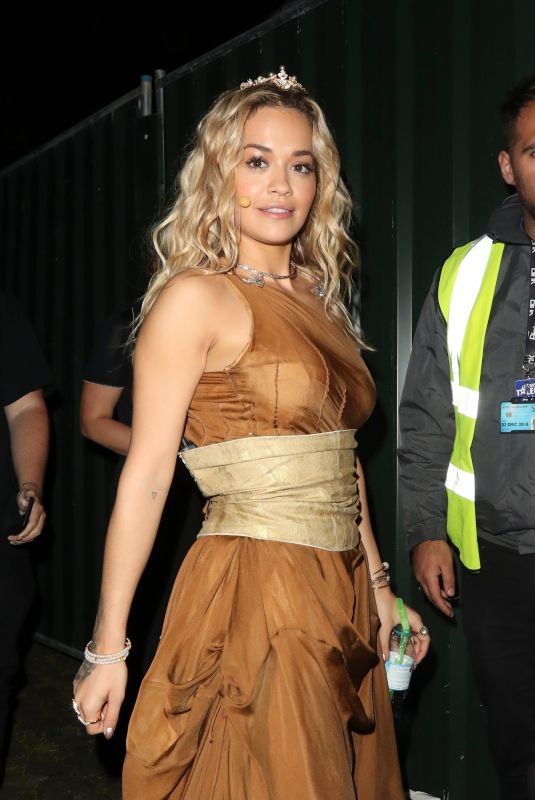 RITA ORA at Britain